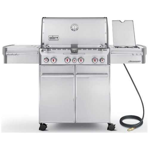 Natural Gas BBQ - 88,800 BTU - 580 sq.in.