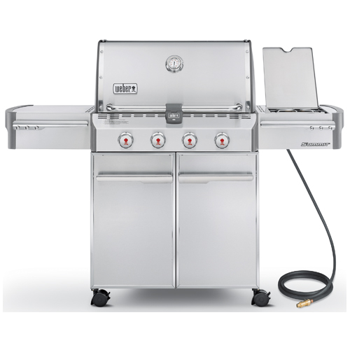 Natural Gas BBQ - 60,800 BTU - 650 sq.in.