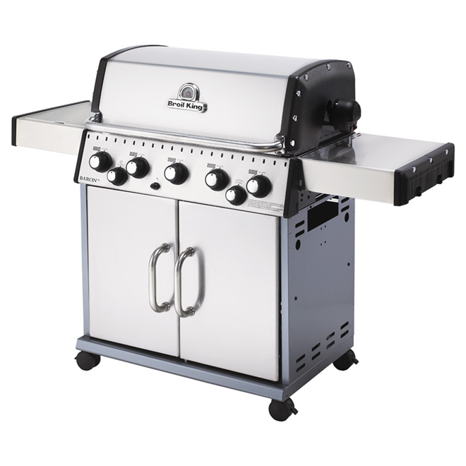 Natural Gas BBQ - 75,000 BTU - 805 sq.in.