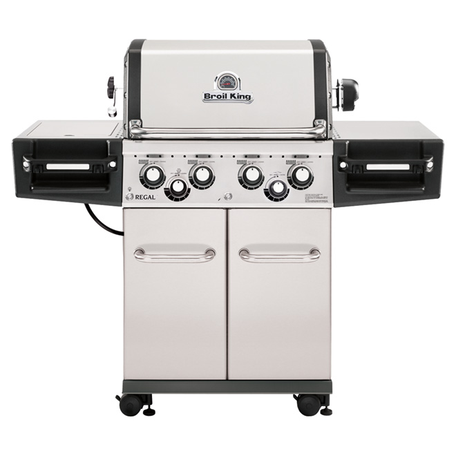 Barbecue au gaz naturel, 75 000 BTU, 695 po.ca.