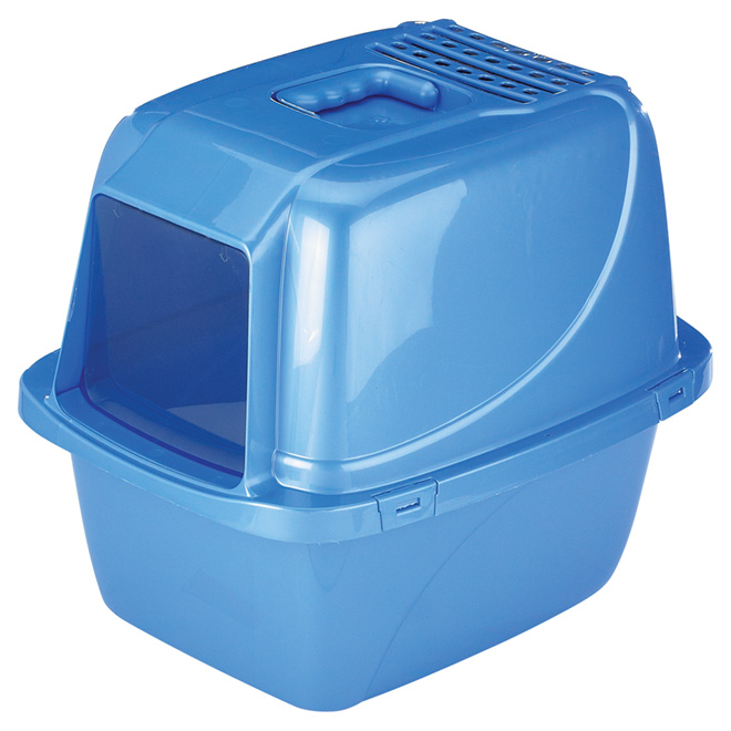 Enclosed Cat Litter Pan - Extra Large