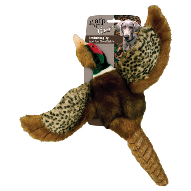 Plush Dog Toy - Pheasant