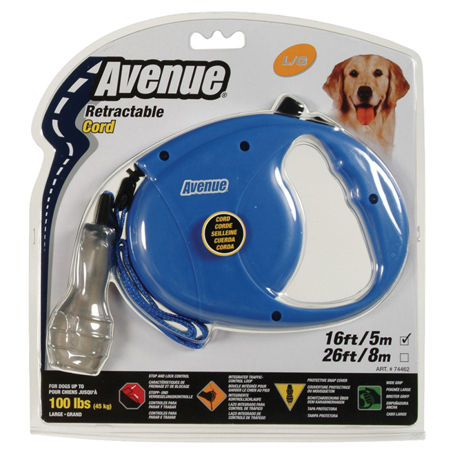 Retractable Dog Leash - Large  - 16'