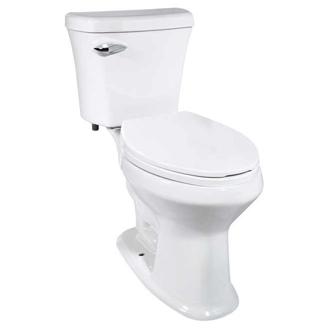 Elongated Front High Efficiency Toilet - Ceramic - 4.8L