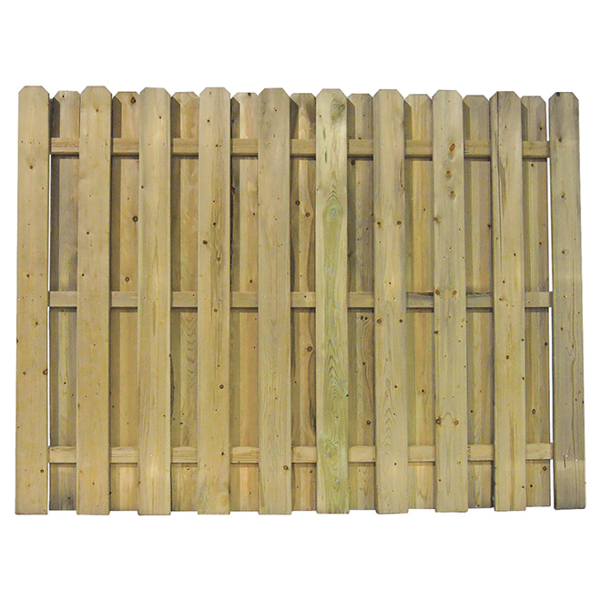 "Fence - 6 x 8' Pre-Assembled ""Shadow"" Fence"