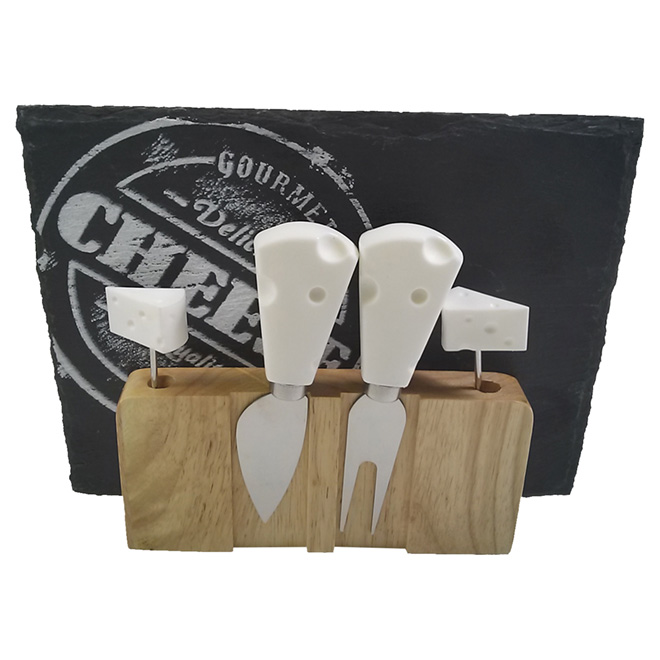 6-Piece Cheese Board Set