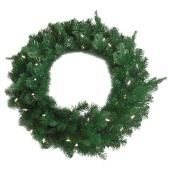 LED Artificial Pine Wreath - 30