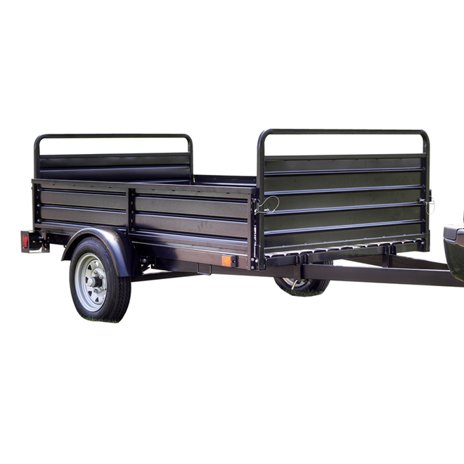 Utility Trailer with Removable Side Panels - 5' x 7'