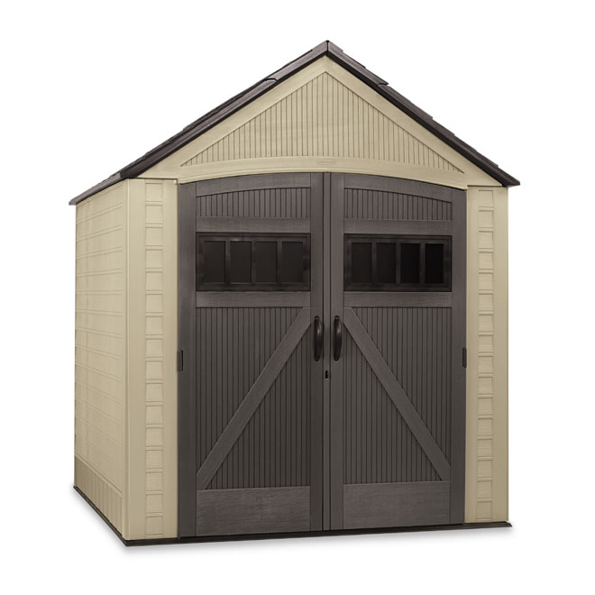 Free storage shed plans 8x10 outdoor storage sheds rona for 10x10 shop door