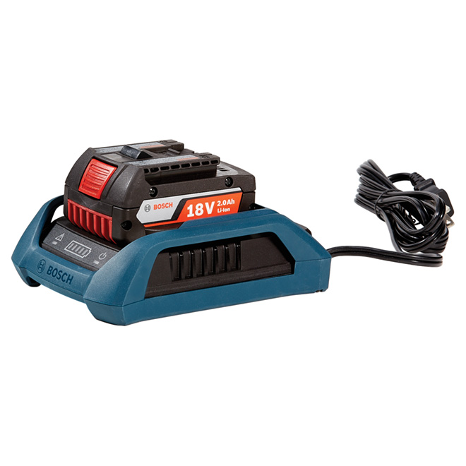 Lithium-ion Battery and Charger - 18 V - Teal