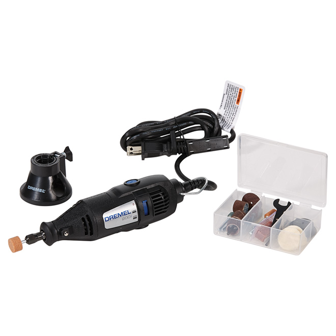 Rotary Tool Kit - Corded - Variable Speed - 21 Pieces