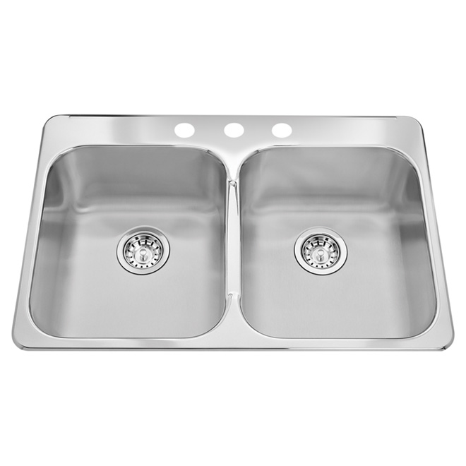 double kitchen sink - Rona Kitchen Sink