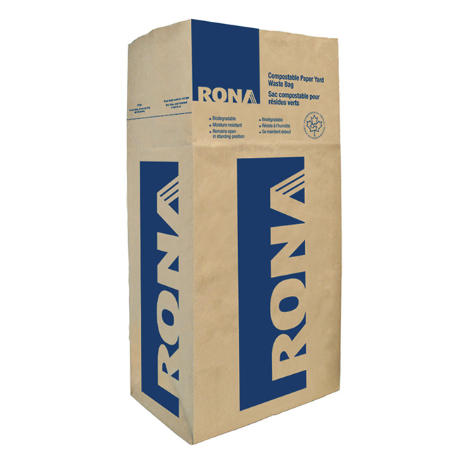 pack of 10 compostable bags rona