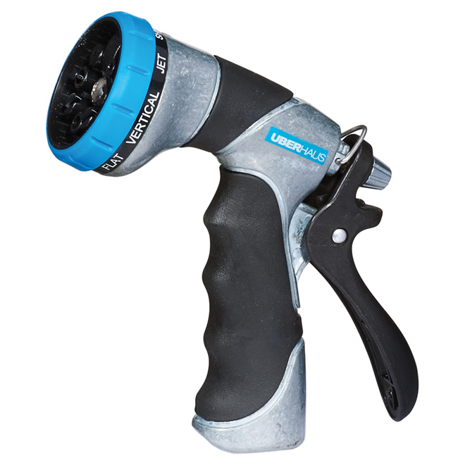Spray Gun - Black/Grey/Blue - 8 Functions