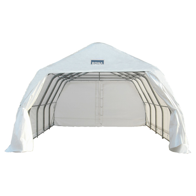 Double Car Shelter - 18' x 20'