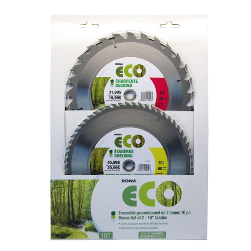 Set of 2 Circular Saw Blades