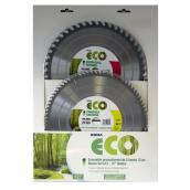 Set of 2 ECO Circular Saw Blades