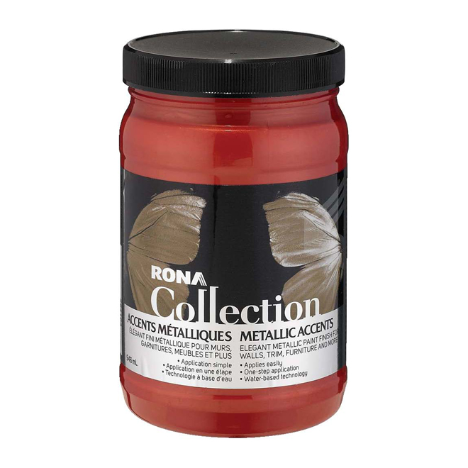 Metallic Paint - Scarlet Red