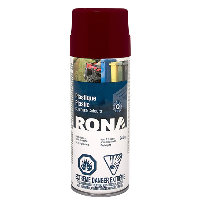 Spray Paint for Plastic 340g - Claret Wine