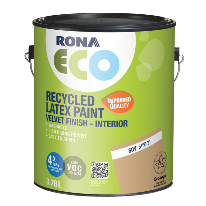 Recycled Interior Paint - Soy