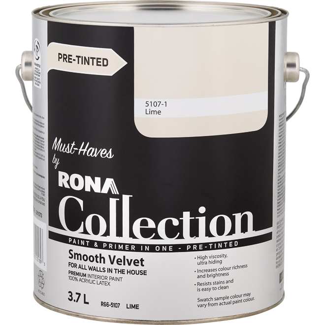 Paint and Primer in One - Smooth Velvet - Lime