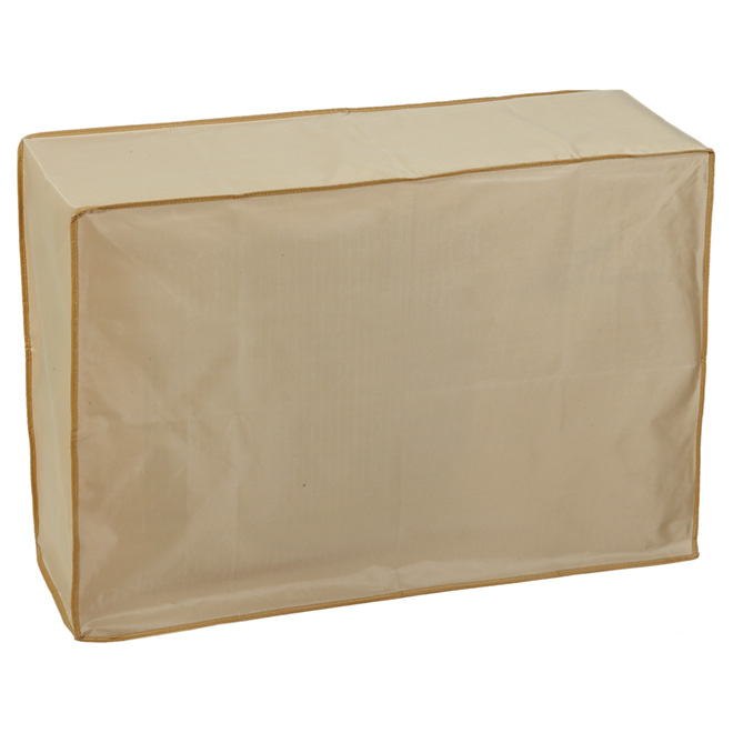 "Air Conditioner Cover - 10"" x 32"" x 22"" - Beige"