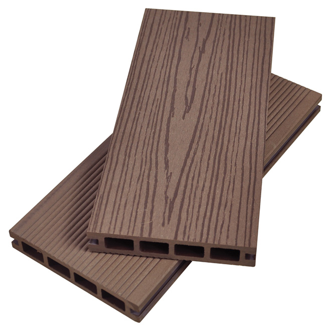 board composite decking board 12 39 dark coffee rona. Black Bedroom Furniture Sets. Home Design Ideas