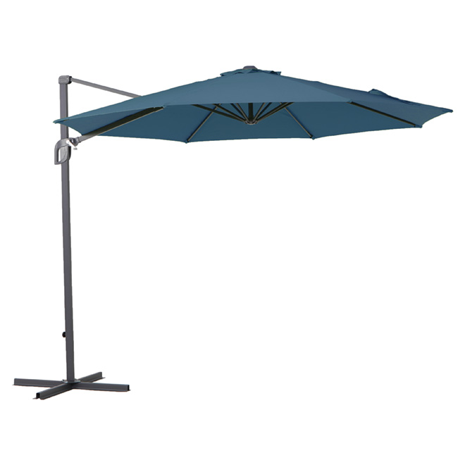 Cantilever Patio Umbrella   9.8u0027   Navy