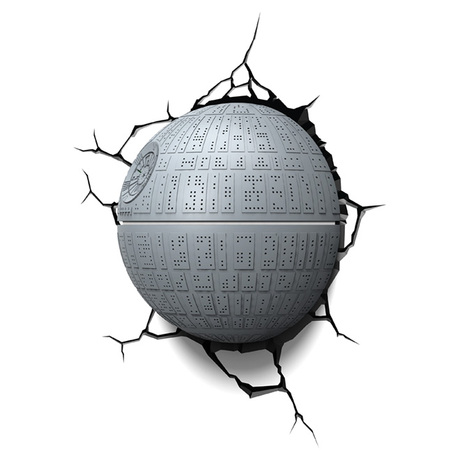 Applique murale 3D « Death Star »