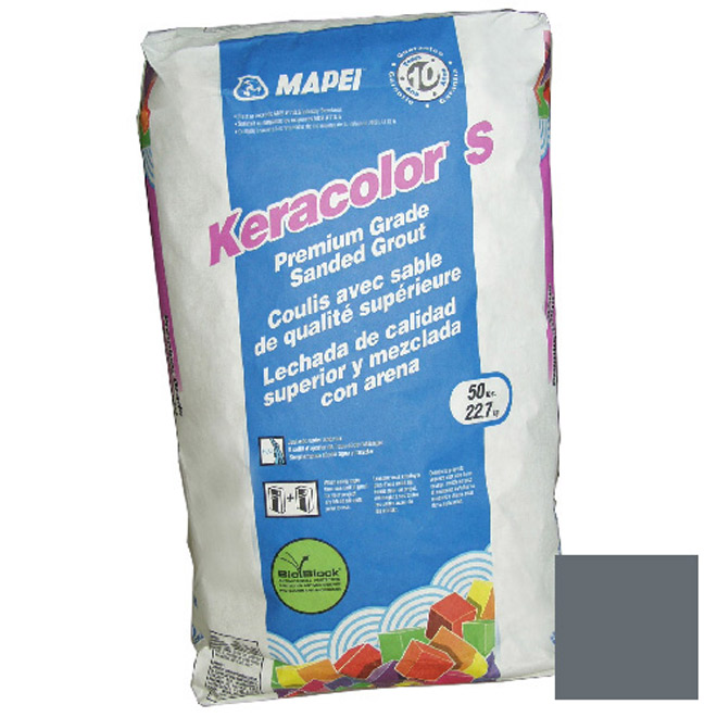 """Keracolor S"" Sanded Grout 22,68kg - Grey"