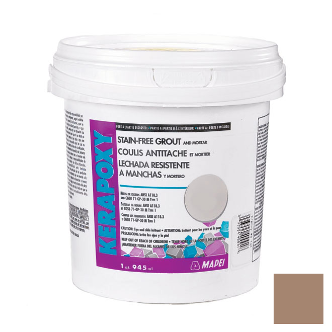 """Kerapoxy"" Stain-Free Grout and Mortar 945ml - Camel"