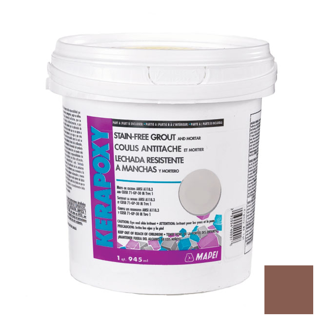 """Kerapoxy"" Stain-Free Grout and Mortar 945ml - Terracotta"