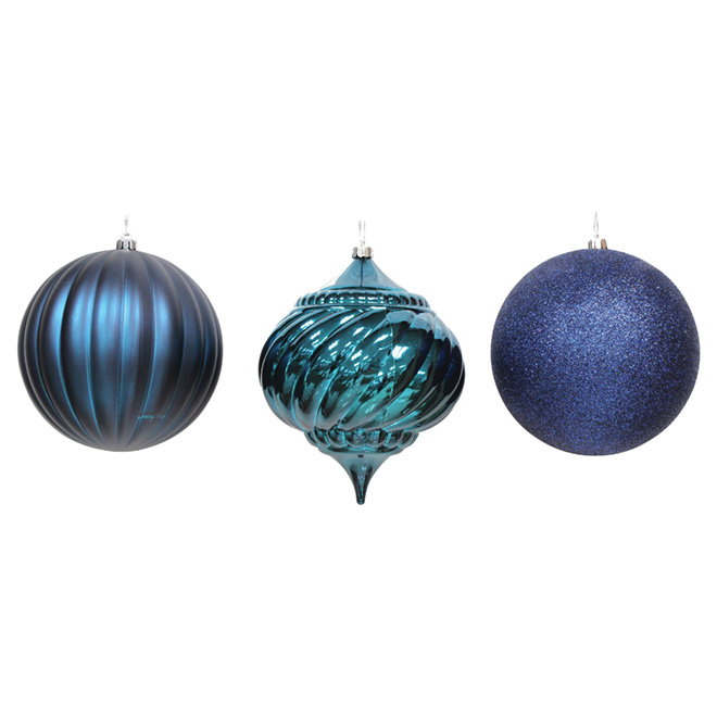 Assorted Ball Ornament - 3-Piece Set