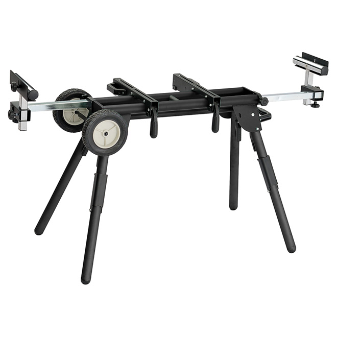 Universal Stand for Miter Saw - Steel - Black