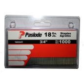 Galvanized Staples - 18GA - 3/4