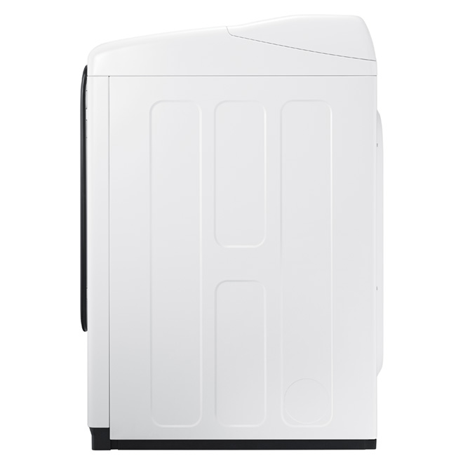 Electric Steam Dryer - 7.4 cu. ft. - White