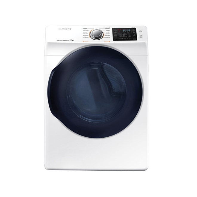 MASS Electric Dryer - 7.5 cu.ft. - White