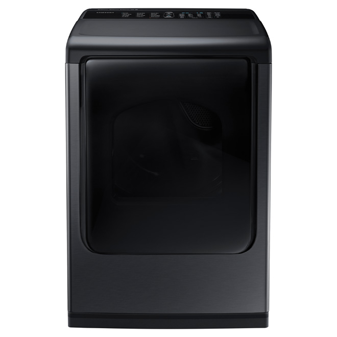 Electric Dryer with Multi-Steam(TM) - 7.4 cu. ft. - Black