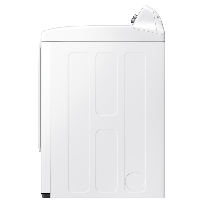 Electric Dryer with 8 cycles - 7.2 cu. ft. - White