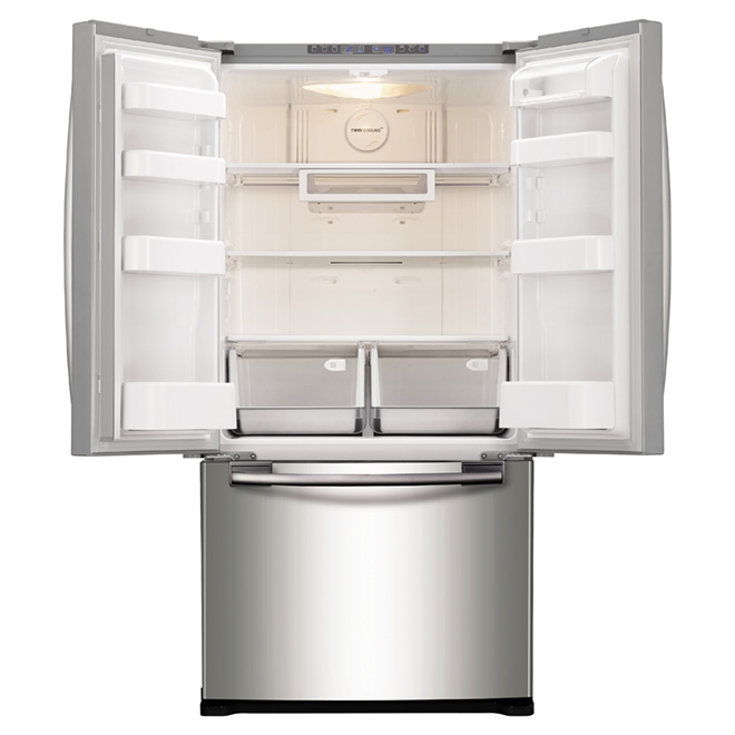 French Doors Refrigerator 17.5 cu. ft. - Stainless