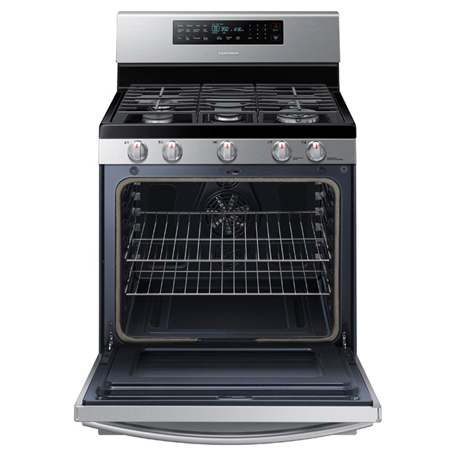 Gas Convection Range - 5.8 cu. ft. - Stainless Steel