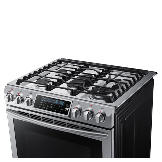 Slide-In Gas Convection Range - 5.8 cu.ft. - Stainless Steel