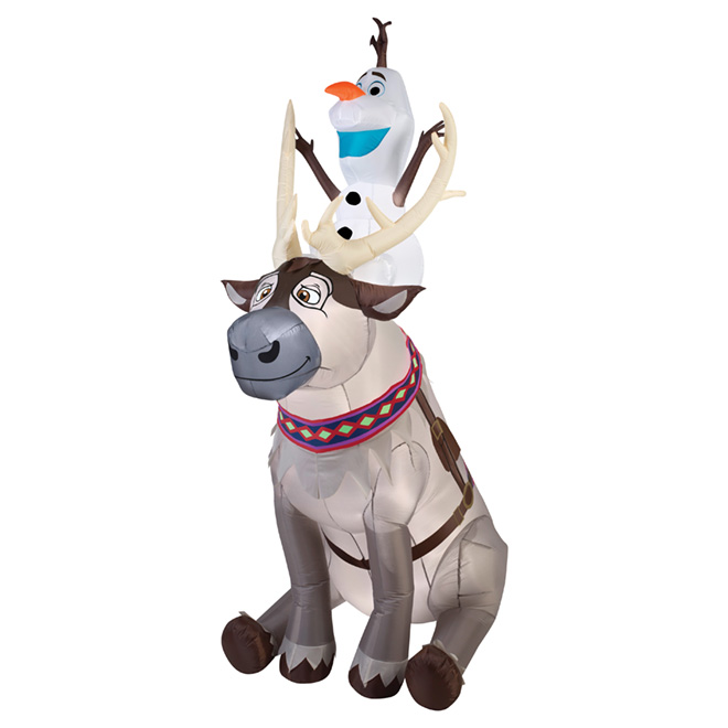 Olaf and Sven Airblown(R) Inflatable Decoration - 90""