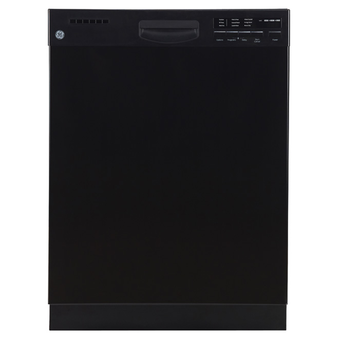"24"" Built-in Steel Tall Tub Dishwasher - Black"