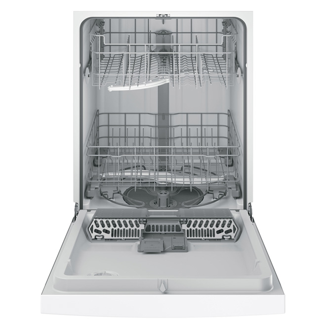 "24"" Built-in PermaTuf Tall Tub Dishwasher - White"