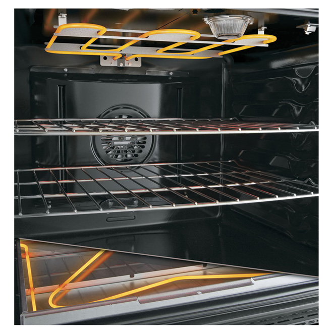 Freestanding Electric Induction Range - Double - 5.3 cu. ft.