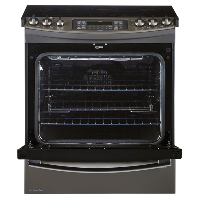 Slide-In Electric Convection Range - 6.6 cu. ft.