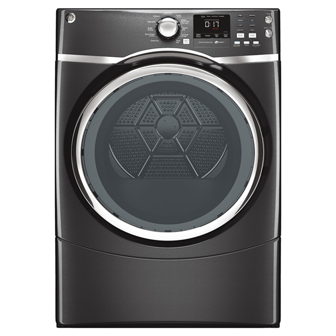 Gas Dryer with Steam - 7.5 cu.ft. - Diamond Grey