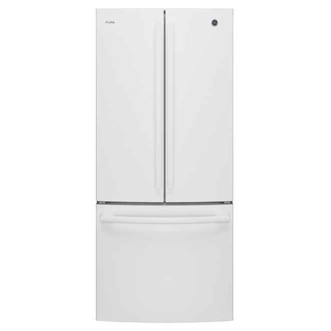 "French Door Refrigerator - 30"" - 20.8 cu. ft. - White"