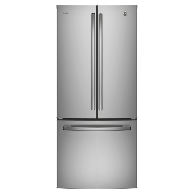 "French Door Refrigerator - 30"" - 20.8 cu. ft. - Steel"